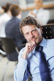 Mature businessman Royalty Free Stock Photos