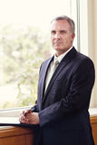 Mature Businessman Portrait royalty free stock image