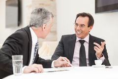 Mature businessmen Stock Image