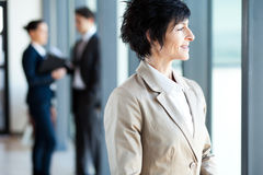 Mature businesswoman Royalty Free Stock Photography
