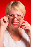 Mature businesswoman Stock Image