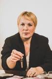 Mature businesswoman Stock Photos