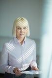 Mature businesswoman Stock Image