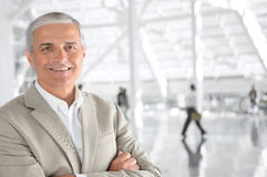 Mature Casual Businessman Royalty Free Stock Images