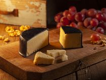 Mature cheddar cheese stock photography