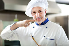 Mature chef portrait Royalty Free Stock Photography