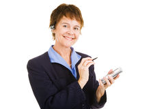 Mature Competent Businesswoman Royalty Free Stock Photo