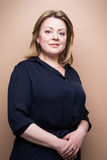 Mature confident woman Stock Image
