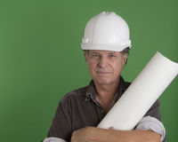 Mature Construction Man Stock Image