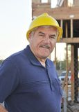 Mature Construction Worker Stock Photography