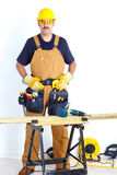 Mature contractor Royalty Free Stock Images