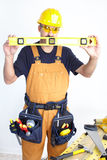 Mature contractor Stock Images