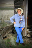 Mature Country Gal Stock Image