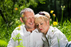 Mature couple Stock Photo