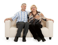 Mature couple Royalty Free Stock Image