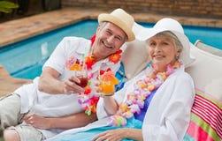 Mature couple Stock Image