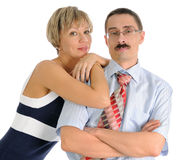 Mature couple Royalty Free Stock Photo