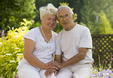 Mature couple Stock Image