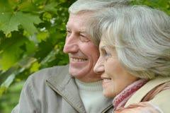 Mature couple Royalty Free Stock Photos
