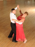 Mature couple ballroom dancing Royalty Free Stock Image