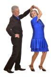 Mature couple dancing Stock Image