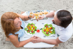 Mature couple Stock Images