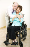 Mature Couple - Disability Royalty Free Stock Photos