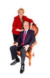 A mature couple in a formal image. Stock Images