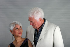 Mature couple looking at each other Royalty Free Stock Images