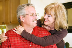 Mature Couple In Love Royalty Free Stock Image