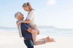 Mature couple in love Stock Photo
