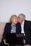 Mature couple in love Stock Photos
