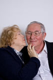 Mature couple in love Royalty Free Stock Images