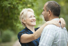 Mature Couple Royalty Free Stock Photography