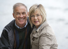 Mature couple outdoors Stock Photos