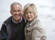 Mature couple outdoors Stock Photos