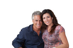 Mature couple portrait Royalty Free Stock Photo
