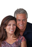 Mature couple portrait Stock Image