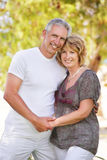 Mature couple smiling Royalty Free Stock Photo