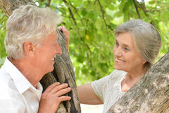 Mature couple together Royalty Free Stock Photos