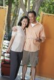 Mature Couple On Vacation Stock Photography
