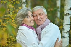 Mature couple Stock Photography