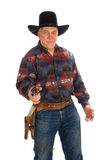 Mature cowboy. Stock Images