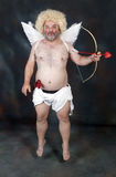 Mature Cupid Royalty Free Stock Images