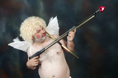 Mature Cupid Stock Photo