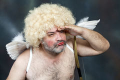 Mature Cupid Royalty Free Stock Image