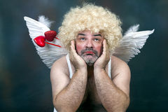 Mature Cupid Stock Image