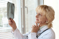 Mature doctor Stock Photos
