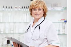 Mature doctor Stock Photography