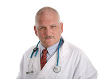 Mature Doctor - Concerned Royalty Free Stock Photography